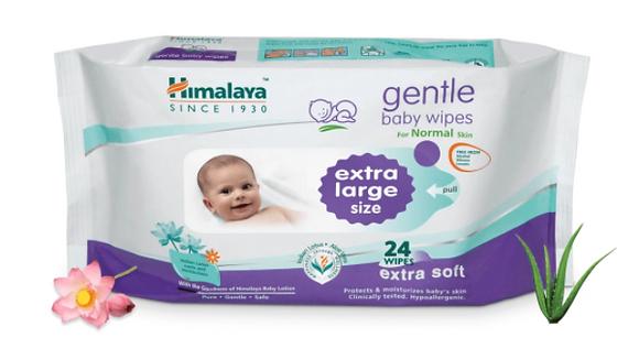 Extra Moisturising Baby Wipes 72's