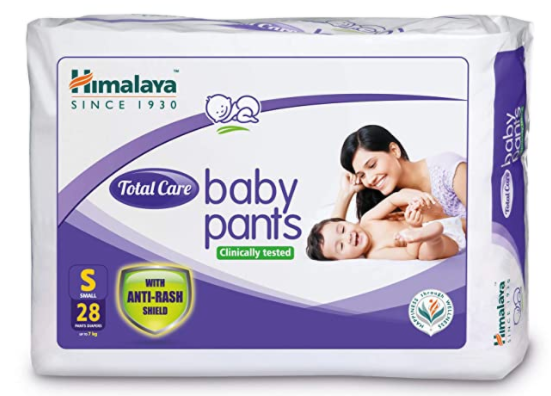 Total Care Baby Pants, Small, 28 Count