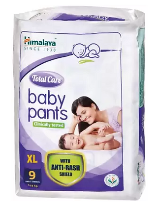 Total Care Baby Pants - XL  (9 Pieces)