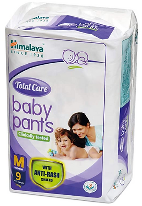 Total Care Baby Pants Diapers, Medium, 9 Count
