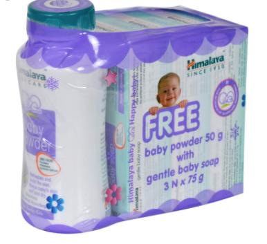 Gentle Baby Soap 3x75gm + Baby Powder 50gm