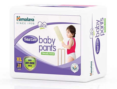 Total Care Baby Pants Diapers, Extra Large, 28 Count