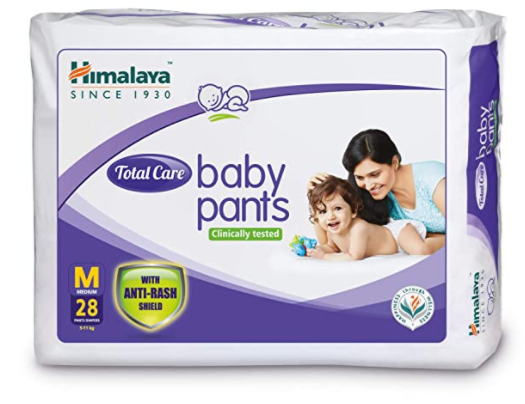 Total Care Baby Pants, Medium, 28 Count