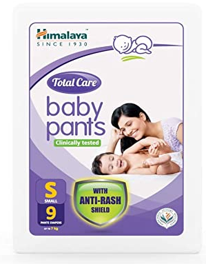 Total Care Baby Pants, Small, 9 Count