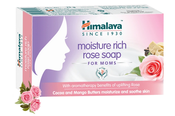 Moisture Rich Rose Soap For Moms, Pink