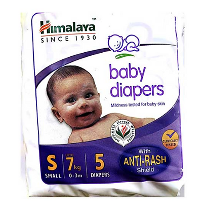 Baby Diapers Small 5s