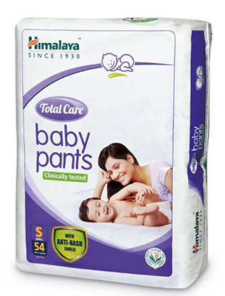 Total Care Baby Pants Diapers, Small, 54 Count