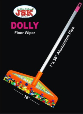 Dolly Wiper Aluminium Pipe 16'