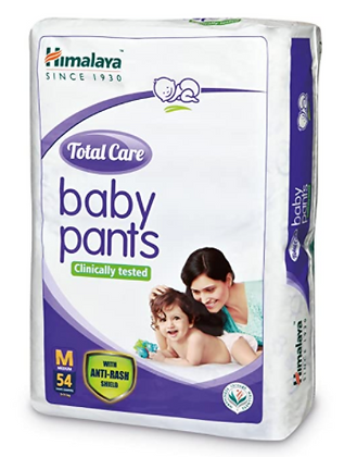 Total Care Baby Pants Diapers, Medium, 54 Count