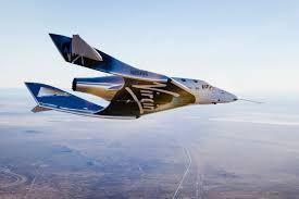 Virgin Galactic прервала испытательный полёт космоплана VSS Unity
