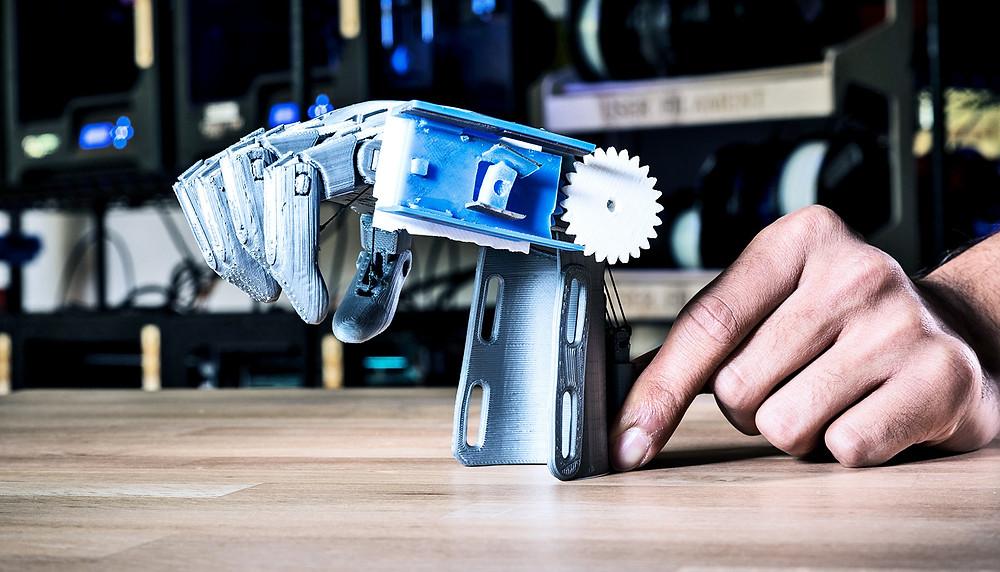 Протез руки 3D e-NABLE