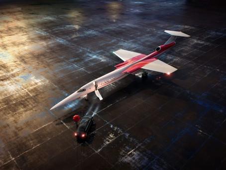 Первый сверхзвуковой пассажирский самолет от Boeing и Aerion