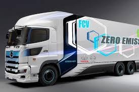Toyota создаст грузовик на водородных топливных элементах