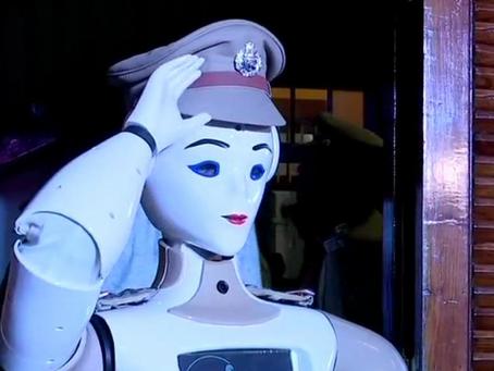 Первый робот-полицейский запущен в Индии