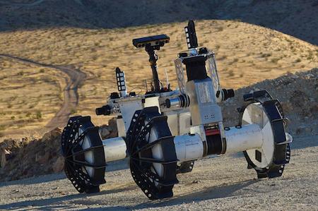 NASA разрабатывает ровер для исследования кратеров на Марсе