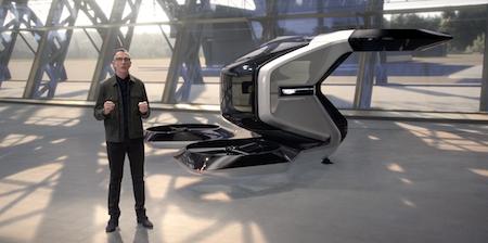 Концерн General Motors представил концепт летающего автомобиля