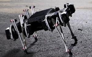 ИИ научил робота Minitaur ходить