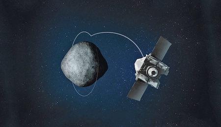 NASA соберет образцы грунта астероида