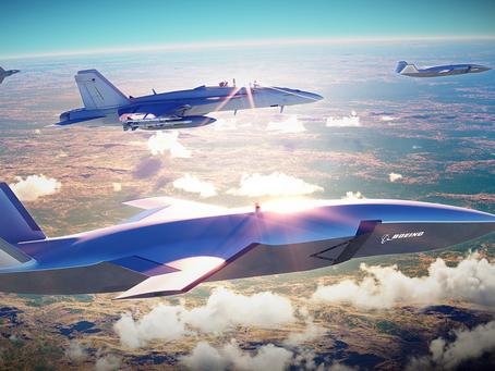 Boeing представила беспилотный истребитель для сопровождения самолетов