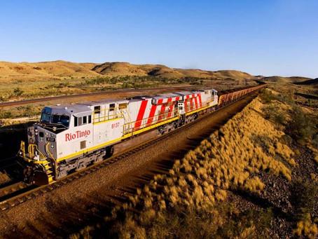 Самый большой в мире робот – автономный локомотив – запущен в Австралии