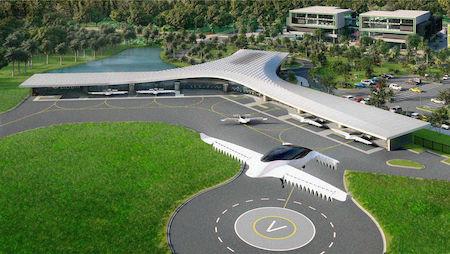 Во Флориде построят аэропорт для летающих автомобилей