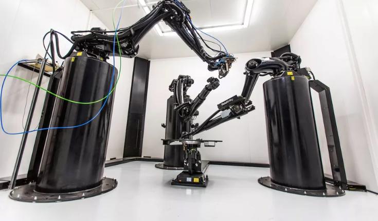 3D принтер в головном офисе компании Relativity Space