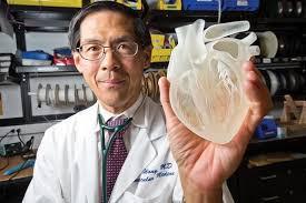 Полноразмерное человеческое сердце напечатали на 3D принтере