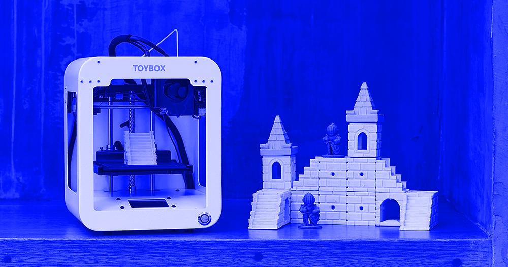 С помощью 3D принтера Toybox можно создавать игрушки