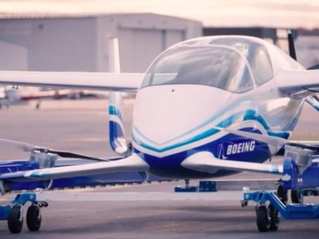 Летающий автомобиль Boeing только что завершил свой первый полет