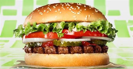 Растительные бургеры от McDonald's