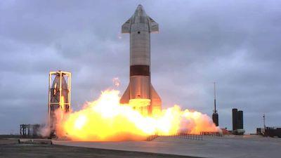 Прототип Starship SN15 успешно приземлился