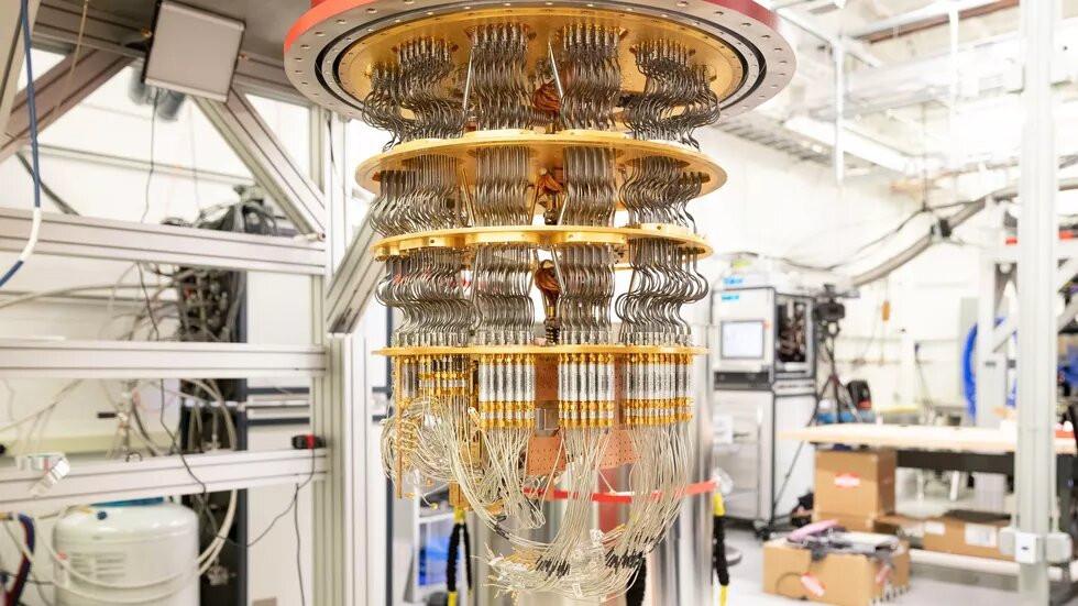 Квантовый компьютер в лаборатории Google