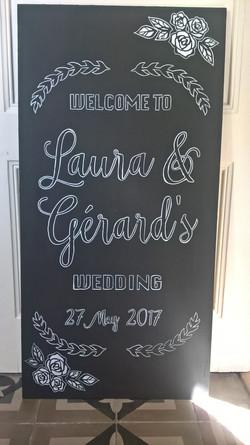 Abs besoke Laura and Gerard board