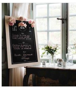 Abs menu board