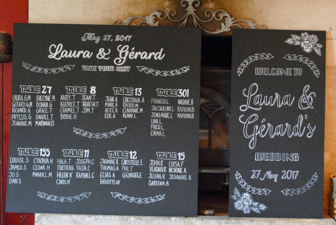 Laura and Gerard boards