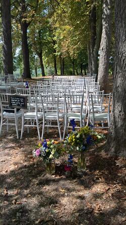 Ceremony Romantic outside