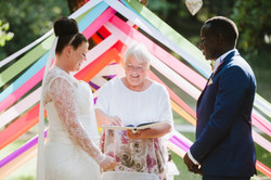 Ceremony tree ribbons