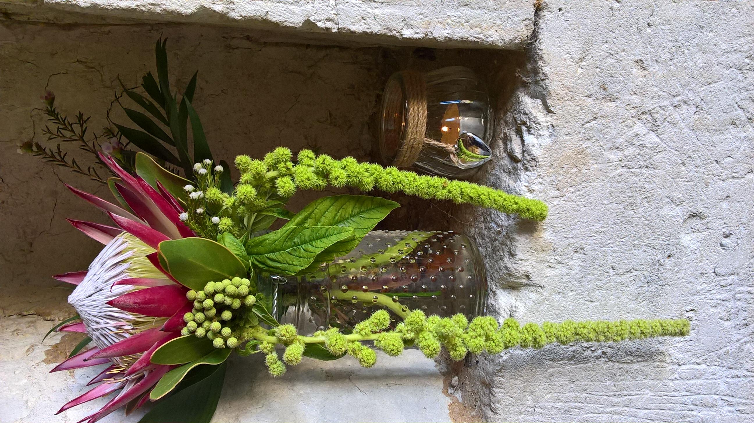 Abs ceremony flowers CC JM