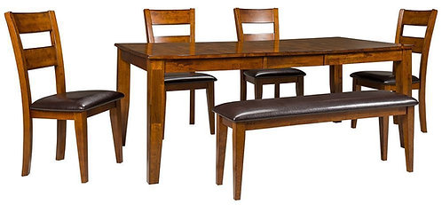 Mango Dining Table Set with Chairs and/or Benches