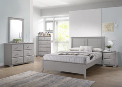 G48 Gray Queen Bed