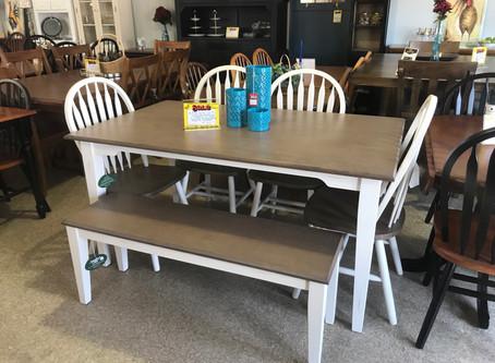 Shaker Farmhouse Dining Table Set
