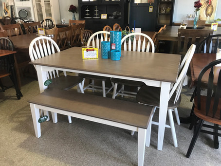 Shaker Farmhouse Dining Table Set