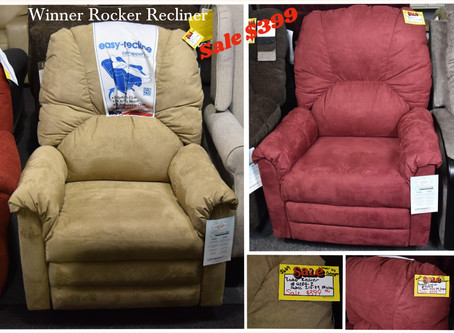 In Stock Reclining Furniture