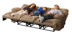 438 Voyager Triple Sofa in Brandy
