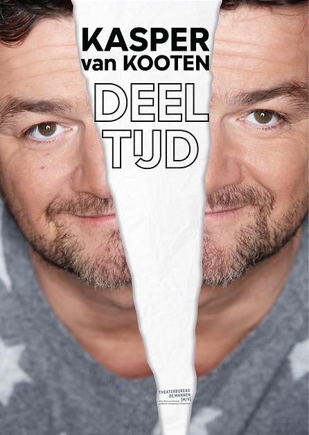 Poster Deeltijd | Kasper van Kooten