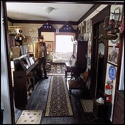 History hallway, Civil War to ...
