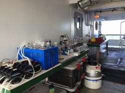 Filtering station