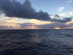 Sunrise in the NPSG