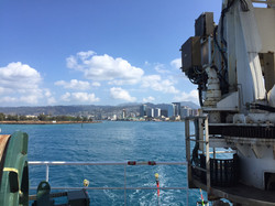departing sung harbor