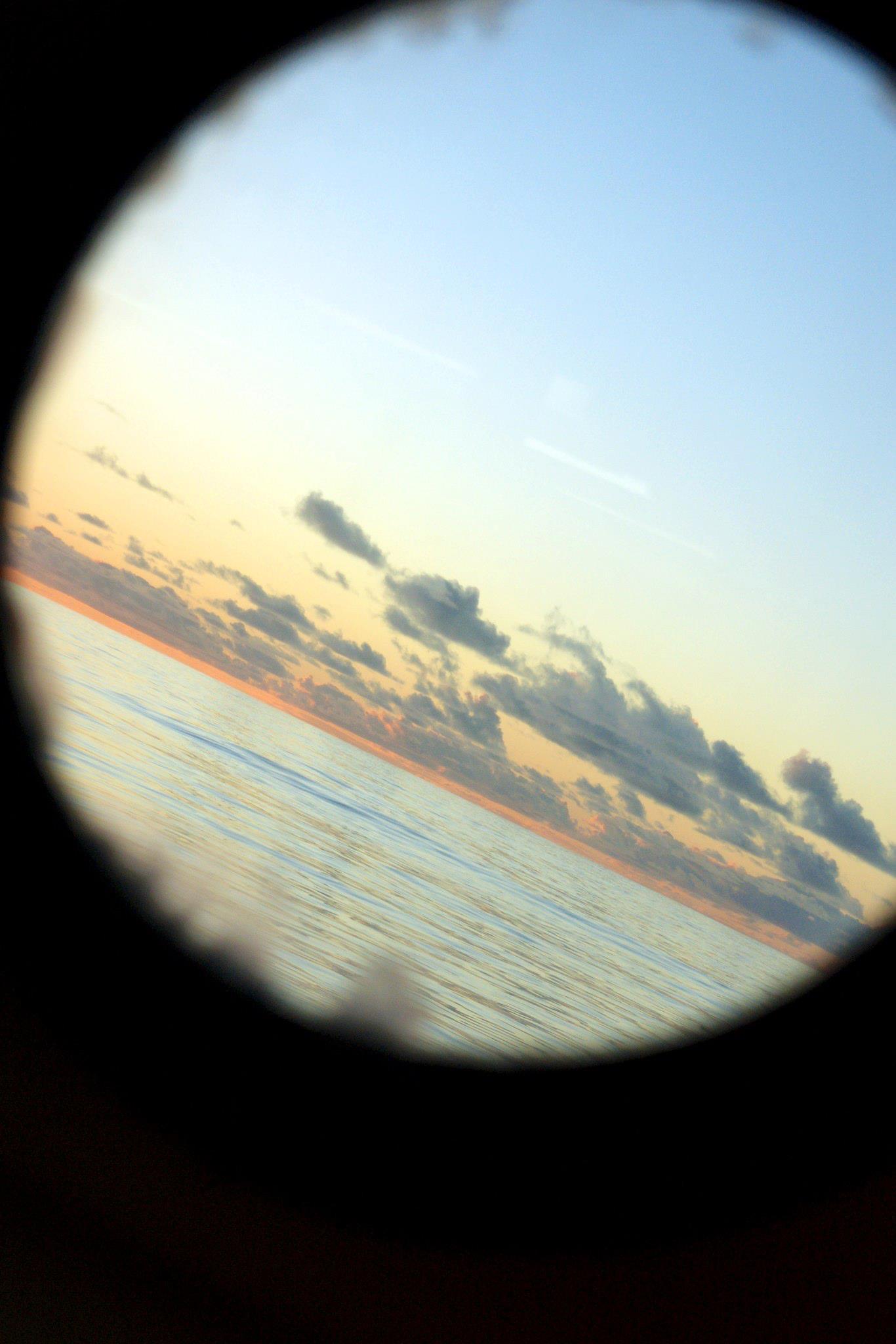Sunset, NPSG, R/V Kilo Moana, 2011